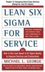 Foto Cover di Lean Six Sigma for Service, Chapter 14, Ebook inglese di Michael George, edito da McGraw-Hill