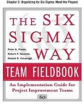 Six Sigma Way Team Fieldbook, Chapter 3