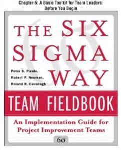 Ebook in inglese Six Sigma Way Team Fieldbook, Chapter 5 Cavanagh, Roland , Neuman, Robert , Pande, Peter