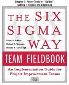 Foto Cover di Six Sigma Way Team Fieldbook, Chapter 7, Ebook inglese di AA.VV edito da McGraw-Hill