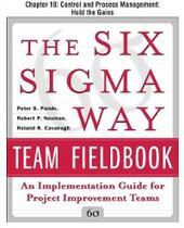 Six Sigma Way Team Fieldbook, Chapter 18