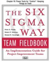 Six Sigma Way Team Fieldbook, Chapter 19