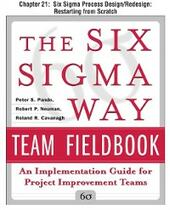 Six Sigma Way Team Fieldbook, Chapter 21