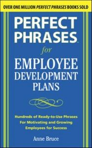 Ebook in inglese Perfect Phrases for Employee Development Plans Bruce, Anne