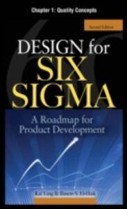 Ebook in inglese Design for Six Sigma, Chapter 1 EI-Haik, Basem , Yang, Kai