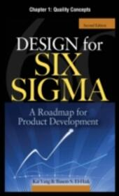 Design for Six Sigma, Chapter 1