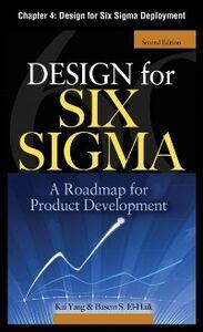 Ebook in inglese Design for Six Sigma, Chapter 4 EI-Haik, Basem , Yang, Kai