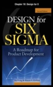 Design for Six Sigma, Chapter 10