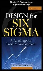 Ebook in inglese Design for Six Sigma, Chapter 12 EI-Haik, Basem , Yang, Kai