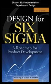 Design for Six Sigma, Chapter 12