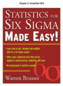 Foto Cover di Statistics for Six Sigma Made Easy, Chapter 3, Ebook inglese di Warren Brussee, edito da McGraw-Hill