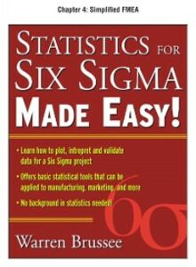 Ebook in inglese Statistics for Six Sigma Made Easy, Chapter 4 Brussee, Warren