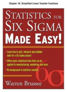 Ebook in inglese Statistics for Six Sigma Made Easy, Chapter 18 Brussee, Warren