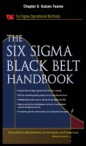 Foto Cover di Six Sigma Black Belt Handbook, Chapter 9, Ebook inglese di AA.VV edito da McGraw-Hill
