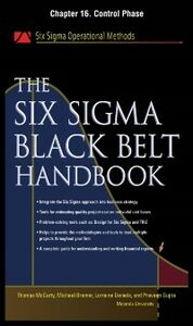 Ebook in inglese Six Sigma Black Belt Handbook, Chapter 16 Bremer, Michael , Daniels, Lorraine , Gupta, Praveen , Heisey, John
