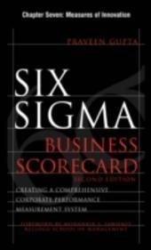 Six Sigma Business Scorecard, Chapter 7