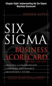 Foto Cover di Six Sigma Business Scorecard, Chapter 8, Ebook inglese di Praveen Gupta, edito da McGraw-Hill