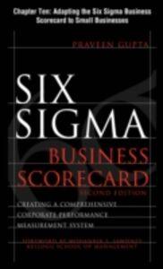 Ebook in inglese Six Sigma Business Scorecard, Chapter 10 Gupta, Praveen