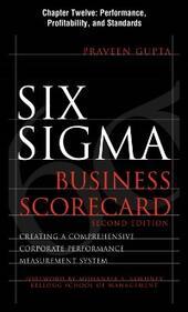 Six Sigma Business Scorecard, Chapter 12