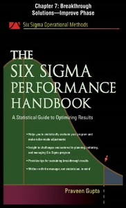 Ebook in inglese Six Sigma Performance Handbook, Chapter 7 Gupta, Praveen