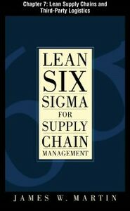Ebook in inglese Lean Six Sigma for Supply Chain Management, Chapter 7 Martin, James
