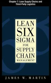 Lean Six Sigma for Supply Chain Management, Chapter 7