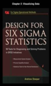 Ebook in inglese Design for Six Sigma Statistics, Chapter 2 Sleeper, Andrew
