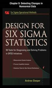 Foto Cover di Design for Six Sigma Statistics, Chapter 9, Ebook inglese di Andrew Sleeper, edito da McGraw-Hill