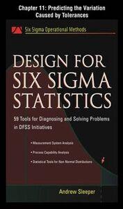 Foto Cover di Design for Six Sigma Statistics, Chapter 11, Ebook inglese di Andrew Sleeper, edito da McGraw-Hill