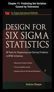 Ebook in inglese Design for Six Sigma Statistics, Chapter 11 Sleeper, Andrew