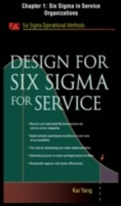 Foto Cover di Design for Six Sigma for Service, Chapter 1, Ebook inglese di Kai Yang, edito da McGraw-Hill