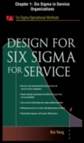 Design for Six Sigma for Service, Chapter 1