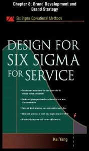 Ebook in inglese Design for Six Sigma for Service, Chapter 8 Yang, Kai