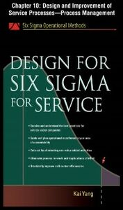 Ebook in inglese Design for Six Sigma for Service, Chapter 10 Yang, Kai