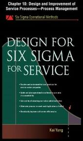 Design for Six Sigma for Service, Chapter 10