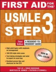 Ebook in inglese First Aid for the USMLE Step 3, Third Edition Bagga, Herman , Bhushan, Vikas , Le, Tao