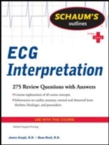 Ebook in inglese Schaum's Outline of ECG Interpretation Keogh, Jim , Reed, Dana