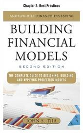 Building FInancial Models, Chapter 2