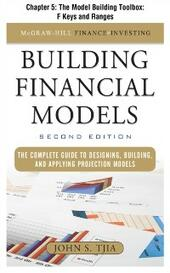 Building FInancial Models, Chapter 5