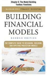 Foto Cover di Building FInancial Models, Chapter 6, Ebook inglese di John S Tjia, edito da McGraw-Hill