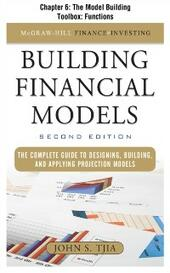 Building FInancial Models, Chapter 6