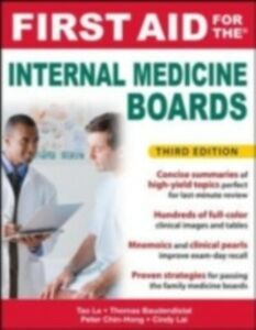 Ebook in inglese First Aid for the Internal Medicine Boards, 3rd Edition Baudendistel, Tom , Chin-Hong, Peter , Lai, Cindy , Le, Tao