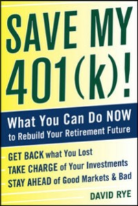 Ebook in inglese Save My 401(k)!: What You Can Do Now to Rebuild Your Retirement Future Rye, David