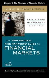 Foto Cover di Professional Risk Managers' Guide to Financial Markets, Ebook inglese di Professional Risk Managers' International Association (PRMIA), edito da McGraw-Hill