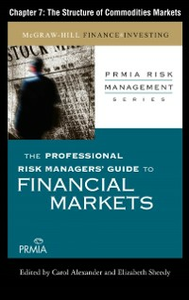 Ebook in inglese Professional Risk Managers' Guide to Financial Markets (PRMIA), Professional Risk Managers' International Association