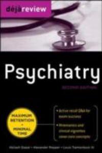 Ebook in inglese Deja Review Psychiatry, 2nd Edition Gopal, Abilash , III, Tramontozzi , Ropper, Alexander
