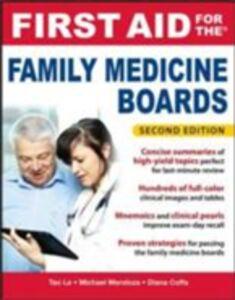 Foto Cover di First Aid for the Family Medicine Boards, Second Edition, Ebook inglese di AA.VV edito da McGraw-Hill Education