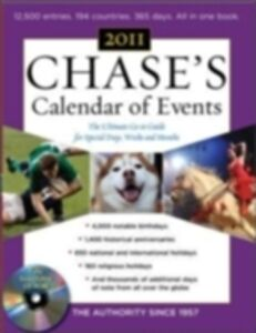 Foto Cover di Chase's Calendar of Events, 2011 Edition, Ebook inglese di Editors of Chase's Calendar of Events, edito da McGraw-Hill Education