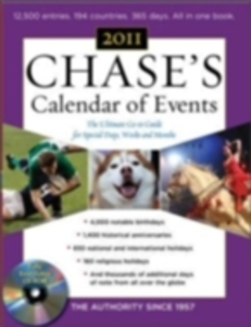 Ebook in inglese Chase's Calendar of Events, 2011 Edition Events, Editors of Chase's Calendar of