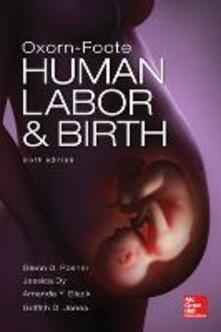 Oxorn-Foote. Human labor & birth - copertina